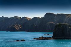 Minimal stories (.KiLTRo.) Tags: portunderwood marlborough newzealand torychannel cookstrait sea ocean island kiltro