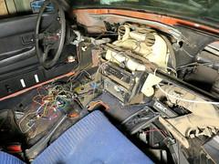 IMG_2619 (rat_fink) Tags: volvo 200 240 242 242dl 1975 interior dash dashboard rewire heaterbox steeringwheel