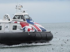 IMG_2286 (2) (fyfester) Tags: shanklin isleofwight august 2016 england hovercraft unionjack transport rye ferry