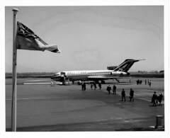 Ansett 727 (adelaidefire) Tags: south australia airport ypad adelaide boeing 727 ansett ana from collection