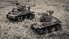 COBI M5A1 Stuart (Adam Purves (S3ISOR)) Tags: cobi stuart m5a1 m5 tank smallarmy wwii ww2 worldwar2 worldwarii usa american military sherman soldier brick block lego