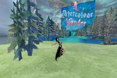 A Watercolour Wander.... A Watercolor Wonder! (ErikoLeo) Tags: art gallery galerie exhibition flickrlovers secondlife secondlifesecondliferegionlea12secondlifeparcelawatercolourwandersecondlifex29secondlifey47secondlifez21
