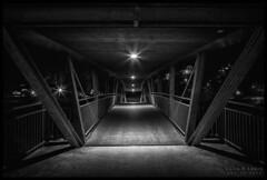 Bridge over the Ziller (in Explore) (WibbleFishBanana) Tags: ziller zillertal zellamziller zellberg austria tirol tyrol bridge sterreich night