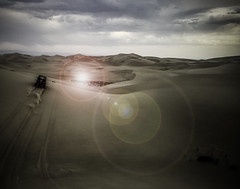 Polaris Rzr is the St. Anthony Sand Dunes (Amy Millward) Tags: idaho iphonephoto shotoniphone6 sand sanddunes stanthonysanddunes destinations polarisrzr polaris