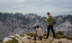 Sunset photographers at creux de van (TM Photography Vision) Tags: creux de van basel riehen schweiz sony alpha 850 zeiss 135 18 neuenburg nature landscape