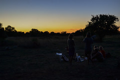 Sunset campsite (Eyes as lenses) Tags: sunset sky skyporn evening colors nature silhouettes shadows camp camping campsite hippies adventure couchsurfing pula croatia
