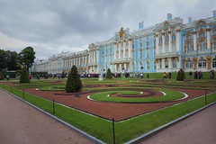 Catherine Palace of Tsarskoye Selo (yuanxizhou) Tags: photography awesome culture russia peterhof summerpalace queen stpetersburg scenery view details building tourist travel garden architecture golden palace royal