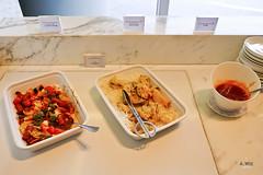 Lounge food (A. Wee) Tags: cathaypacific  thebridge  lounge hongkong hkg    china