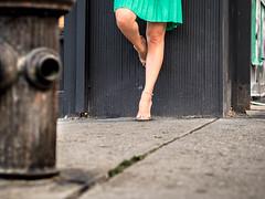 she owns the streets (estellerobertnyc) Tags: manhattan nyc newyork ete jambes jupe legs rue skirts street summer