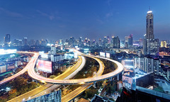 輄轘    ~Panorama of Bangkok (PS兔~兔兔兔~) Tags: bangkok panorama asean thailand skyscraper metropolitan downtown roundabout street aerial heavy travel view engineering urban landmark architectural traffic panoramic infrastructure night hub scenery overpass circle skyline ring light nightscape evening trafficjam twilight tour asia nightfall modern metropolis flyover streetscape architecture city sunset buildings scenic romantic beautiful bridge road landscape cityscape ratchaprarop condominium shadow port highway vertical clouds building thai district high blue sky residence office way windows town apartment express waterfront logistic hotel baiyok