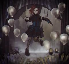 #267 Dollhouse survivor (NuriaNiven) Tags: cureless disordely 10tco boon moonsha abrasive momento bubble {anc} fantasy gacha carnival