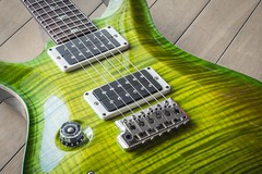 PRS CU24 Curly Maple Top (fincvs) Tags: prs paul reed smith custom 24 flame maple rosewood mahogany lefty eriza verde