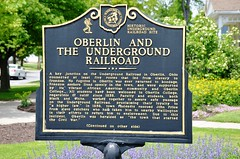 Ohio, Oberlin, Oberlin And The Underground Railroad (EC Leatherberry) Tags: ohio blackhistory blackamericanhistory undergroundrailroad oberlinohio loraincounty historicmarker historicundergroundrailroadsite oberlincollege