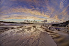 Can our love (pauldunn52) Tags: beach sunset reflection wet sand sea outer hebrides north uist scotland