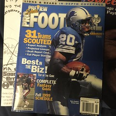 99 (timp37) Tags: preview sports football nfl barry sanders lion lions detroit 99 magazine