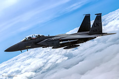 Flying with the USAF F-15E Strike Eagle (xnir) Tags: f15usaf f15 f15e strikeeagle eagle air2air flight aviation nir nirbenyosef xnir