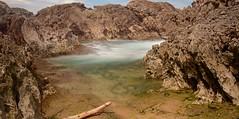 Mar en calma (Rafa perena) Tags: efecto seda filtrond nikon largaexposicion longexposure paisaje landscapes haida mar asturias costa olas rocas naturaleza nature