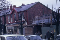 Chapel Lane S 32 1970  Ewings And To Right Tesco Under Construction MIS_CH_020 (Formby Civic Society) Tags: formby merseyside chapellane kershaw johnkershaw charleskershaw bobewing ewing gertrudekershaw hallroadrailaccident