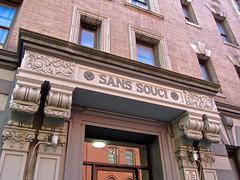 Sans Souci, New York, NY (Robby Virus) Tags: newyork newyorkcity ny nyc city manhattan bigapple sans souci building architecture door inscription