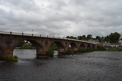 Perth on a gloomy day (caitlinsteewart) Tags: perth bridge tay river