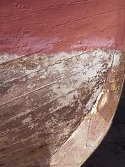 Hull (Martin McDonald) Tags: hull bow keel trawler teignmouth devon harbour