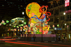 Happy Mid Autumn Festival (yijin56) Tags: lanterns lantern midautumnfestival lightup street chinatown singapore mooncakefestival lanternfestival colors color colorful road streetphotography