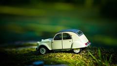 2CV (Yasmine Hens) Tags: toy automobile car 2cv green vert hensyasmine namur belgium wallonie europa aaa belgi belgia belgien  belgique blgica   belgie  belgio    bel be