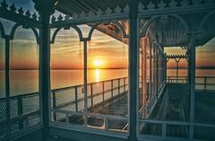 Victorian Sunset (Nige H (Thanks for 6.5m views)) Tags: sunset pier clevedon clevedonpier victorian historic bristolchannel