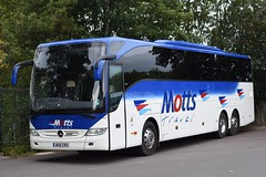 UK15CRU  Motts, Aylesbury (highlandreiver) Tags: uk15cru uk15 cru motts travel aylesbury bucks buckinghamshire mercedes benz tourismo bus coach coaches crusader holidays wycombe wanderers fc football club brunton park carlisle utd united cumbria