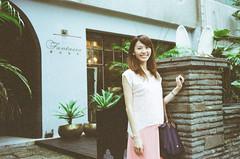 (Mr.Sai) Tags: rollei3540mmf35 myheart200 analog film     taiwan taipei girl portrait