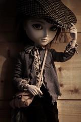 Vintage Boy  (Loony-Doll) Tags: taeyang cavalie full custo custom customise fc makeup azazelle wig animaleyes eyes furwig corps stock