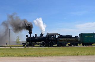 Steam over the prairies