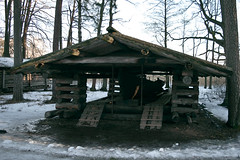The Church Boat (Jori Samonen) Tags: church boat house building tree snow winter seurasaari openair museum helsinki finland nikon d3200 180550 mm f3556 nikond3200 180550mmf3556