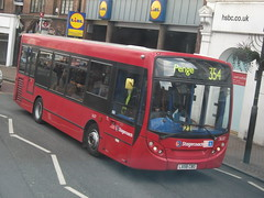 Stagecoach London 36317 on route 354 Beckenham 06/04/13. (Ledlon89) Tags: bus london buses transport londonbus beckenham tfl enviro200 stagecoachlondon alexanderdennisdart