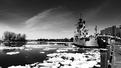 The big picture (Jon Rieley-Goddard aka baldyblogger) Tags: ice canalside usslittlerock buffaloharbor buffalonya