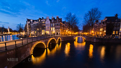Leidsegracht Blue (N+C Photo) Tags: world life travel viaje bridge sky holiday holland history tourism water netherlands dutch amsterdam night photography agua nikon europa europe earth explorer culture eu kingdom canals adventure explore vida holanda civilization nikkor mokum vacaciones ams grachten mundo learn keizersgracht global oranje discover aventura d800 tierra leidsegracht benelux travel1 lespaysbas descubrir pasesbajos cityurban mudial 1424f28g mygearandme mygearandmepremium mygearandmebronze photographyforrecreation rememberthatmomentlevel1 bestevercompetitiongroup