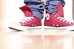 Red Chuck (Sara.No) Tags: red converse taylor chuck chucktaylor