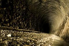 Takedao Tunnels 1 (kumazemi) Tags: urban abandoned japan train dark japanese scary tracks tunnel spooky tunnels exploration takarazuka 宝塚 武田尾 takedao