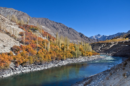 Ladakh - The River Dras - Autumn Hues