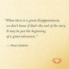 Quote by Pema Chödrön