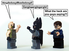 TDKR in a Nutshell (Oky - Space Ranger) Tags: tom dark dc funny lego nolan christopher voice super christian gordon batman knight heroes universe bale nonsense bane rises commissioner hardy tdkr