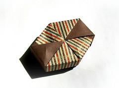 Box - Fuse (rebecccaravelry) Tags: origami box modular fuse tomokofuse