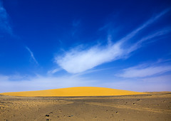 Nubian Desert, Old Dongola, Sudan (Eric Lafforgue) Tags: africa sky cloud horizontal outdoors photography sand day northafrica soedan sudan dune nopeople copyspace nubia soudan tranquilscene saharadesert northernafrica traveldestinations colorimage nubiandesert  olddongola szudn sudo  northernsudan northsudan      xuan eri6519