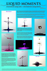 High Speed Photography Poster (2) (Pablo Bou) Tags: water poster agua drop gotas creatividad highspeed altavelocidad