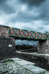 Meccano Bridge (KRC1975) Tags: bridge manchester bury bolton slowshutter hdr meccano nobend littlelever hdraward manchesterboltonburycanal prestoleelocks flickrstruereflection2