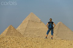Visitar las piramides de giuza (All tours Egypt) Tags: africa travel sky people blur history tourism cemetery female hair bag landscape fun outdoors one sand women desert adult pyramid exploring sightseeing fulllength scenic egypt middleeast landmark tourist unescoworldheritagesite depthoffield blond serenity backpack daytime discovery giza enjoyment aweinspiring necropolis oneperson clearsky backview northernafrica midadult midadultwoman 30sadult viewfrombelow burialsite pyramidsofgiza upperegypt caucasianethnicity surfacelevel gizagovernorate 3034years 36007653 4236007653