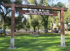 Ye Bridle Path Sign (Upland, California) (courthouselover) Tags: california ca upland sanbernardinocounty