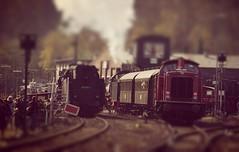 toyland2 (Michael Wipperfrth Fotografie) Tags: train shift eisenbahn railway zug tilt bochum eisenbahnmuseum