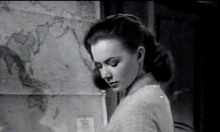 Piper Laurie, starring in  ''Until They Sail'' 1957