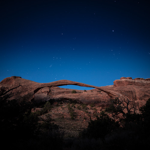 Twilight on Landscape Arch
